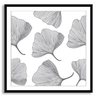 Gallery Direct Kovalto1's 'Gingko Leaves' Framed Paper Art