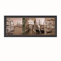 Watt Boyce/ J. Maihara 'A Glimpse Of Venice' Framed Artwork