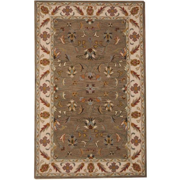 Shop Handmade Herat Oriental Indo Tabriz Wool Rug (India