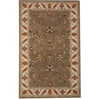 Herat Oriental Indo Hand-tufted Tabriz Wool Rug (5' x 8')