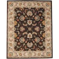 Handmade Herat Oriental Indo Tabriz Wool Rug  - 8' x 10' (India)