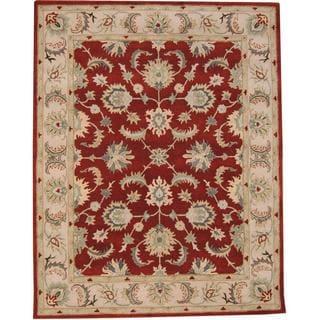 Herat Oriental Indo Hand-tufted Tabriz Wool Rug (8' x 10')