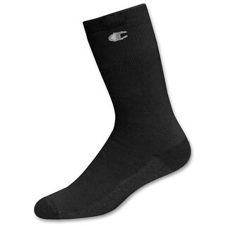 Champion Double Dry High Performance Men's Full Cushion Crew Socks (Pack of 3)
