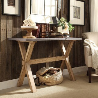 rustic, entryway table for less | overstock
