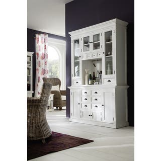 mahogany living room furniture. NovaSolo Mahogany Kitchen Hutch Unit Living Room Furniture For Less  Overstock com