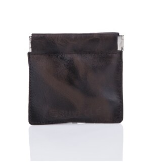 Suvelle WS616 Men's Leather Facile Squeeze Coin Pouch
