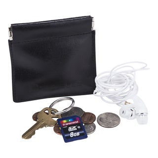 Suvelle Genuine Leather Facile Squeeze Coin Pouch