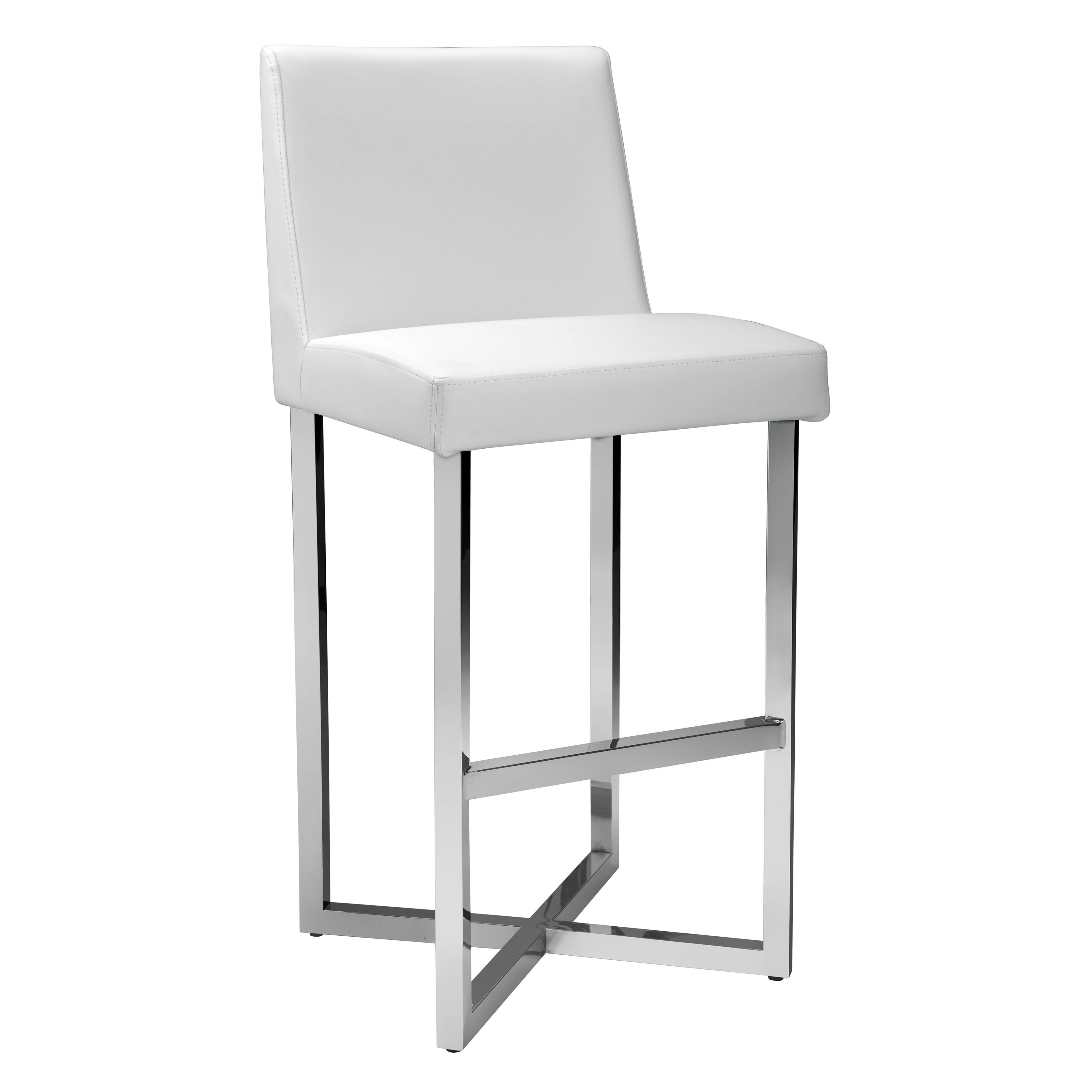 Shop Sunpan Ikon Howard Bonded Leather 30 Quot Barstool