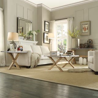 White Living Room Furniture Sets - Shop The Best Deals for Nov ...