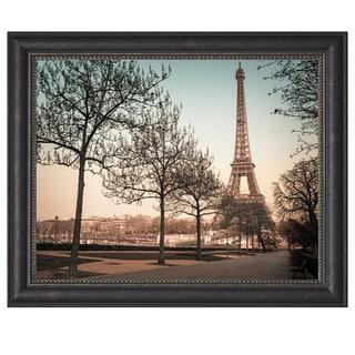 Assaf Frank 'Remembering Paris' Framed Artwork