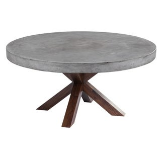 Sunpan 'MIXT' Warwick Round Dining Table