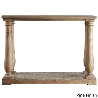 Edmaire Rustic Baluster TV Stand by SIGNAL HILLS