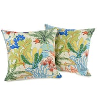 Island Breeze 20-inch Decorative Throw Pillows (set of 2)