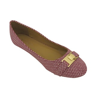 Nichole Simpson Women's Patterned Ballet Flats