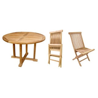 D-Art Teak Beachside Umbrella Table and Chairs (Indonesia)