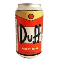 The Simpsons Duff Can Energy Drink