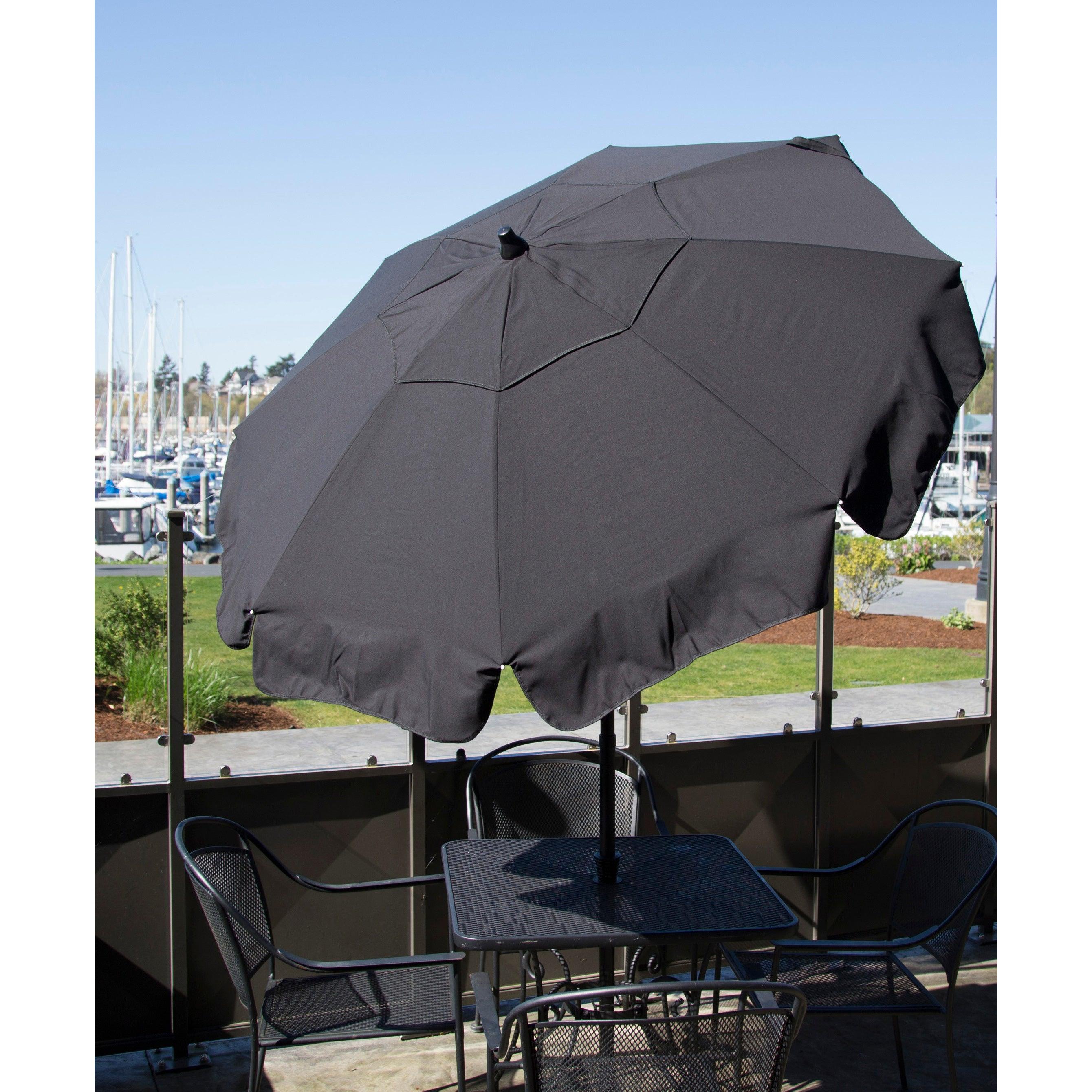 Shop Italian Bistro 6 Foot Acrylic Beach Bar Patio Umbrella Free