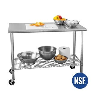 Buy Kitchen Pantry Storage Online At Overstockcom Our Best - 18 wide stainless steel work table
