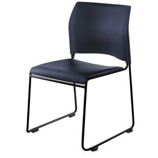 NPS 8700 Series Vinyl Padded/ Metal Frame Cafetorium Stack Chair