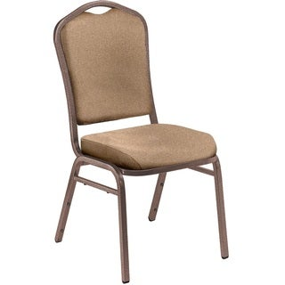 NPS 9350 Fabric Padded Metal Frame Stack Chair