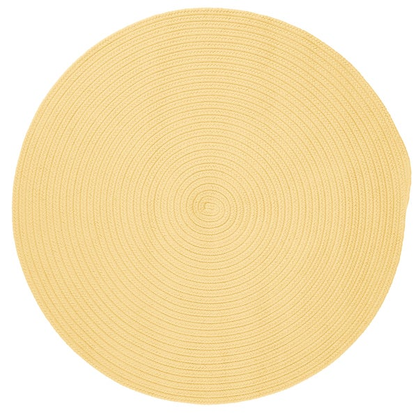 Anywhere Round Reversible Textured Area Rug (6' x 6') - 6' x 6'