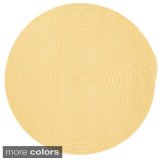 Anywhere Round Reversible Textured Area Rug (10' x 10')