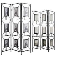 Maddox photo frame room divider