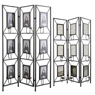 Maddox photo frame room divider