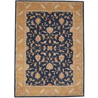 Herat Oriental Indo Hand-tufted Mahal Wool Rug (8' x 11') - 8' x 11'