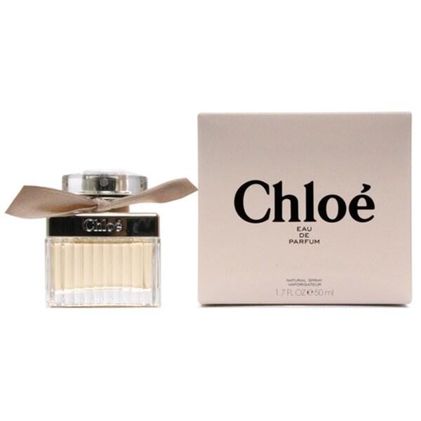 166fdf35899a Shop Chloe Women's 1.7-ounce Eau de Parfum Spray - Free Shipping Today -  Overstock - 9821515