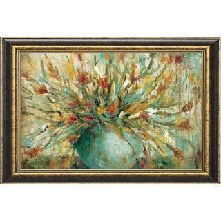 Wani Pasion 'Grande Bouquet' Framed Artwork