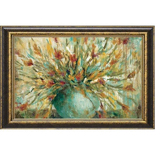 Wani Pasion 'Grande Bouquet' Framed Artwork