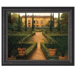 Montserrat Masdeu 'Garden Manor' Framed Artwork