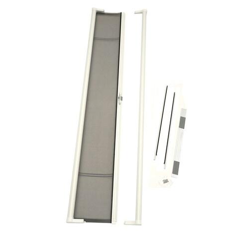 ODL Brisa White Tall Retractable Screen Door
