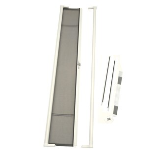 ODL Brisa White Tall Retractable Screen Door (Option: White)