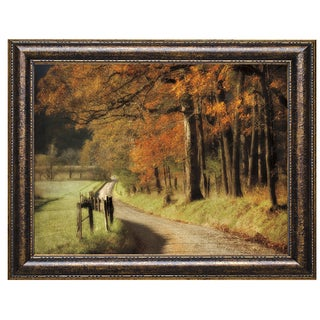 D. Burt 'Autumn's Morning Light' Framed Artwork