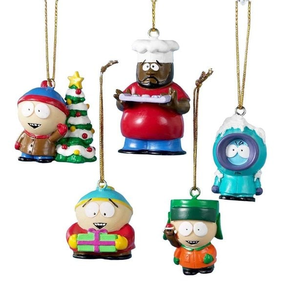 south park 5 pack christmas tree ornaments - Overstock Christmas Decorations