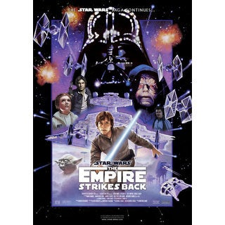 Star Wars Episode V: The Empire Strikes Back Movie Poster