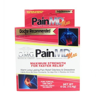 Pain MD Maximum Strength 4-ounce Pain Relieving Cream