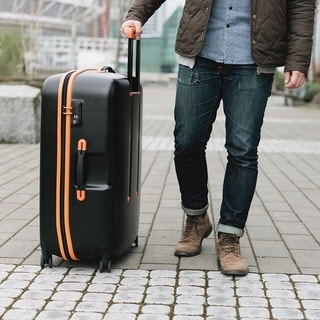 Lojel Nimbus 29.75-inch IPX-3 Waterproof Hardside Upright Spinner Suitcase