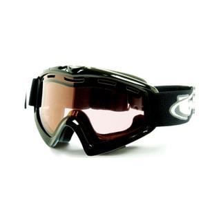 Bolle 20190 X9 OTG Goggles Black Frame Vermillon Lens