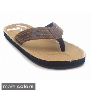 Blue Mens 'M-Fouler' Beach Flip Flop Sandals