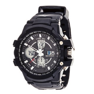 Everlast Sport Men's Analog Digital Black Rubber Watch