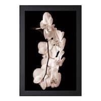John Rehner 'Orchid Dance l' Framed Artwork