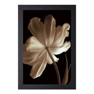 Charles Britt 'Champagne Tulip lI' Framed Artwork
