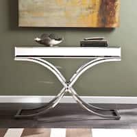 Harper Blvd Annabelle Chrome Mirrored Sofa/ Console Table