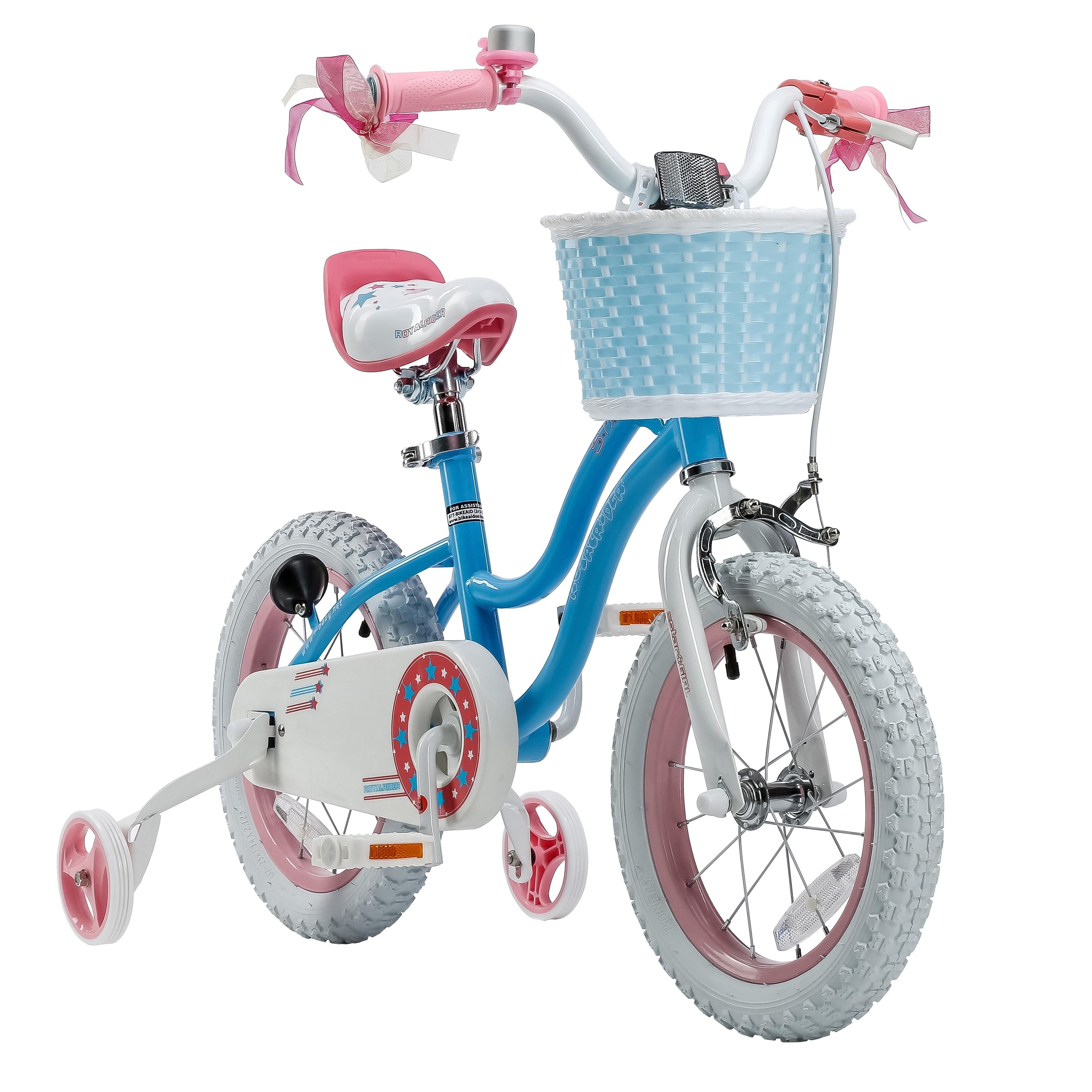 Royalbaby Stargirl 12-inch Kids' Bike with Training Wheel...