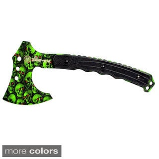 9.75-inch Zomb-war Skull Design Tactical Axe