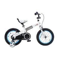 """Royalbaby Buttons 12-inch Kids' Bike with Training Wheels - 12"""""""