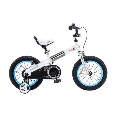 """Royalbaby Buttons 14-inch Kids' Bike with Training Wheels - 14"""""""